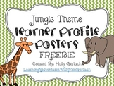 Learner Profile Posters- Jungle Theme
