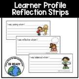 Learner Profile Reflection Strips