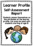 Learner Profile Report - Self Assessment