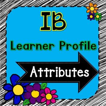 Learner Profile Signs - arrows