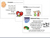 Learner Profile Songs for Early Years