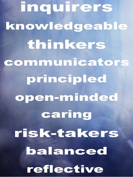 Learner Profiles Poster