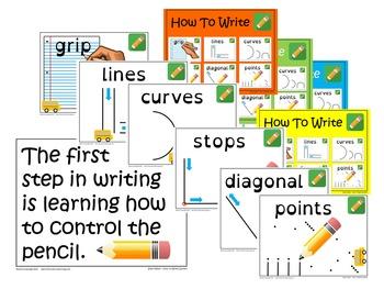 NO PREP - Beginning Writing Center Set-Up