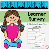 Back to School Student Survey: Get to Know Your Students