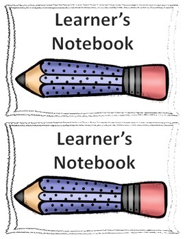 Learners Notebook Cover