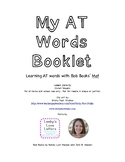 Learning AT Words CVC Word Families with Bob Books Mat