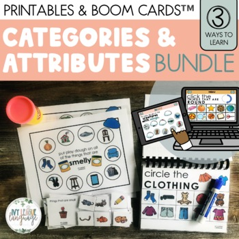 Learning about Characteristics & Categories BUNDLE!