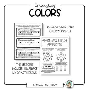 Art Lesson: Contrasting Colors