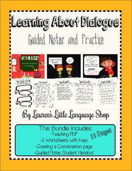 Learning About Dialogue