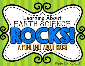 Learning About Earth Science ROCKS! {A Mini Unit About Rocks}