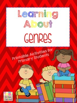 Learning About Genres---Printables for Primary Grades
