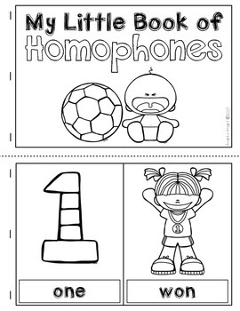 Learning About Homophones  (Poster Set, Pairing Cards, & A Student Book)