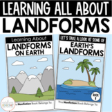 Learning About Landforms (Differentiated Resources for Grade 2)