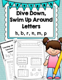 Dive Down, Swim Up Around Letters (Handwriting Without Tea