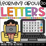 Learning About Letters (Oo) Digital Learning   Distance Learning