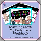 Learning About My Body Parts – kindergarten, preschool, special needs