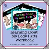 Learning About My Body Parts – kindergarten, preschool, special needs