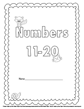 Learning About Numbers 11 -20