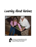 Learning About Numbers:  A Printable Parent Handout