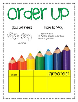 Learning About Numbers - BUILD center games