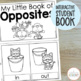 Learning About Opposites (Poster Set, Pairing Cards, & A Student Book)