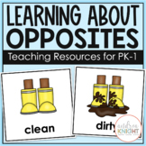 Opposites: Posters, Pairing Cards, and a Student Book