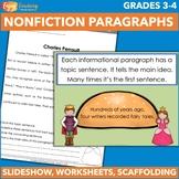 Introduction to Nonfiction Paragraph Structure (PDF or Google Drive)