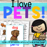 Pets  | Worksheets Activities Posters Task Cards