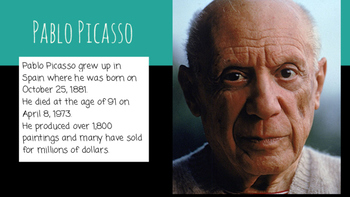 Learning About Picasso
