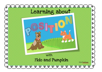 Positional Words with Fido and  Pumpkin
