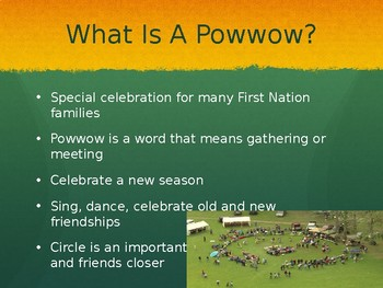 Learning About Pow Wows