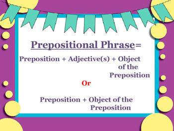 Learning About Prepositions: Lesson, interactive notes, task cards