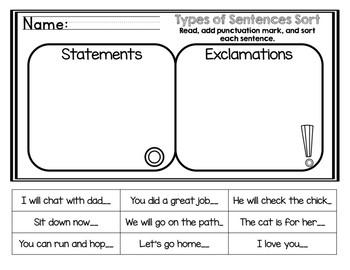Learning About Sentences