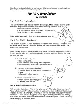 Learning About Spiders