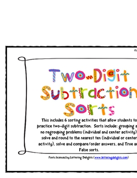 Learning About Subtraction with Regrouping