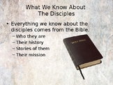 Learning About The Disciples