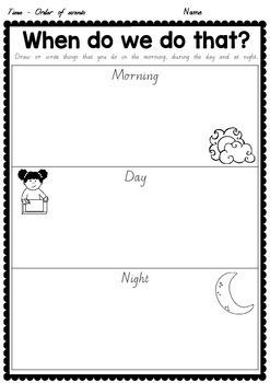 Time worksheets - Victorian Modern Cursive