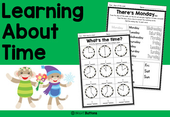 Learning About Time - order, duration, days, months