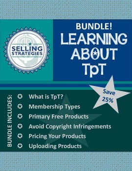 Learning About TpT - Tutorial Bundle!