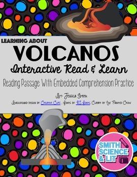 Volcanoes Interactive Reading Passage