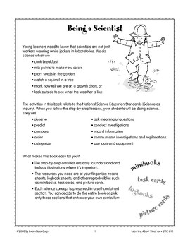 Learning About Weather: Using Logbooks