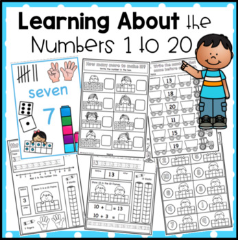 Learning To Write Numbers Teaching Resources | Teachers Pay Teachers