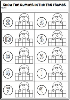 Learning About the Numbers 1 to 20