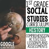 1st Grade Social Studies - History (MC3 Compatible)