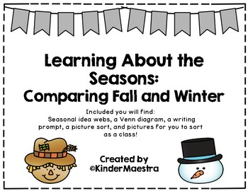 Learning About the Seasons: Comparing Fall and Winter
