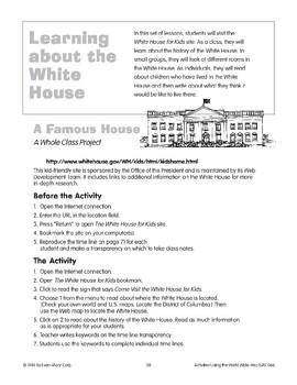 Learning About the White House