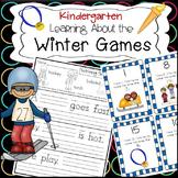 Kindergarten Winter Olympics Literacy and Math Activities