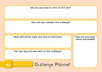 Learning Challenge Pack - targets, posters & worksheets for study skills