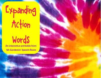 Learning Action Words and Using them in Sentences