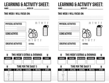 Learning Activities Tracker
